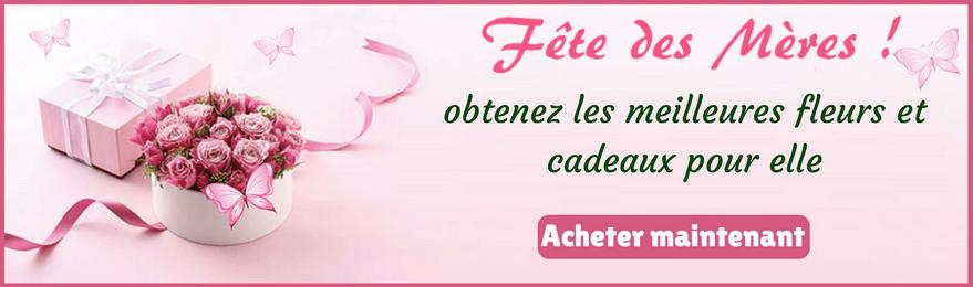 Livraison de fleurs Fête des Mères France