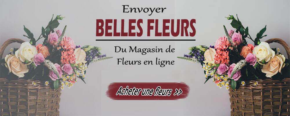 Livraison de fleurs en ligne